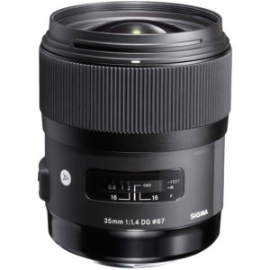 Sigma 35mm f/1.4 DG Art Lens for Canon Cameras
