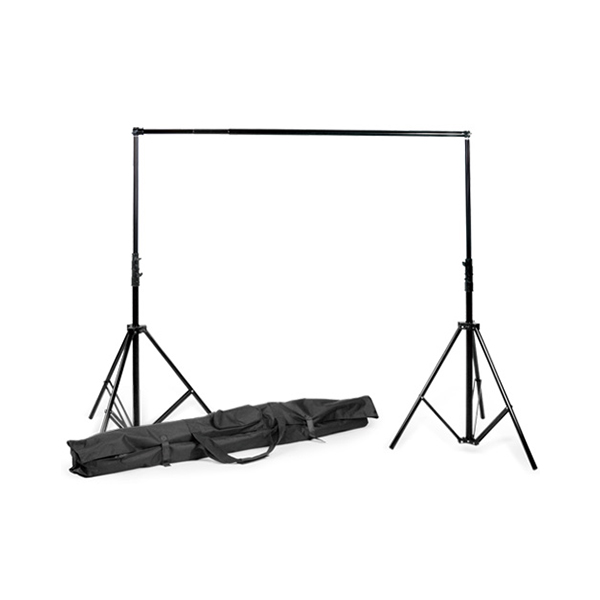 Studio Lighting Rental: BACK GROUND STAND WITH ONE (1) MUSLIN CLOTH BACK GROUND OF